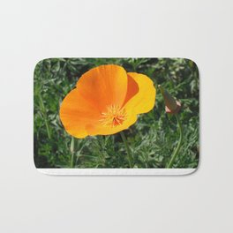 Golden Beauty. California Poppy. © J. Montague. Bath Mat