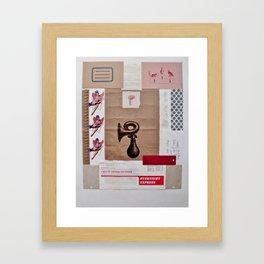 Honk Framed Art Print