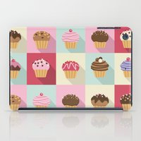 cupcakes iPad Cases featuring Cupcakes by Rosa Puchalt
