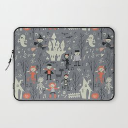 Love shack monsters halloween party Laptop Sleeve
