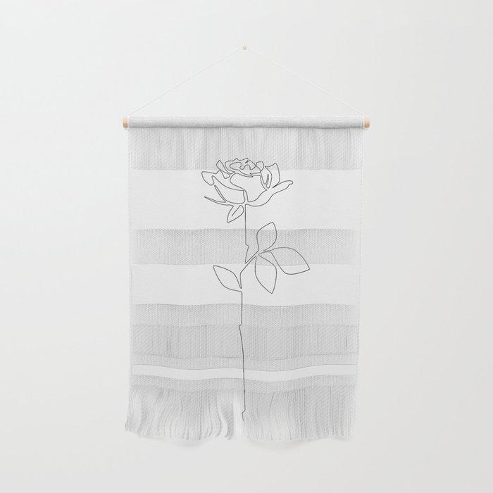 Fragile Rose Wall Hanging