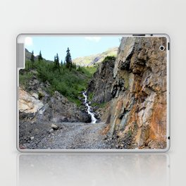 The Silver Crown Mine - Rounding a Bend in the Old Wagon Road Laptop & iPad Skin