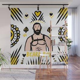 Beard Boy: Leather King Wall Mural
