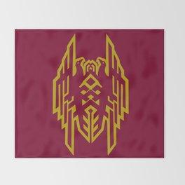 Hawke Amell Crest V1 Throw Blanket