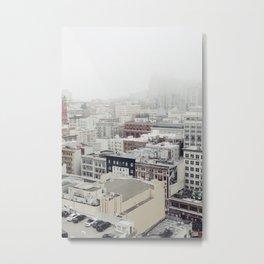 San Francisco Fog Metal Print