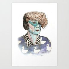 Drove Me Wild Art Print