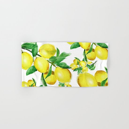lemon Hand & Bath Towel