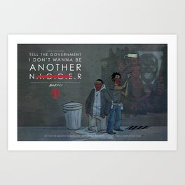 Not Another...  Art Print