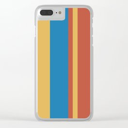 Untitled 2018, No. 6 Clear iPhone Case