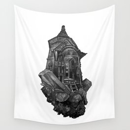 Selenite Lighthouse Wall Tapestry