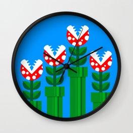 Carnivorous Plant Wall Clock