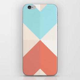 Geometric Pattern XII iPhone Skin