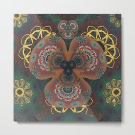 Song of the Night Flower Metal Print