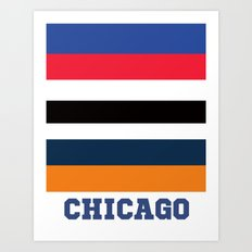 CHICAGO SPORTS Art Print