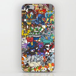pokeman iPhone Skin