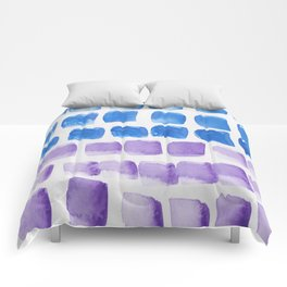 3 | 190321 Watercolour Abstract Painting Comforters