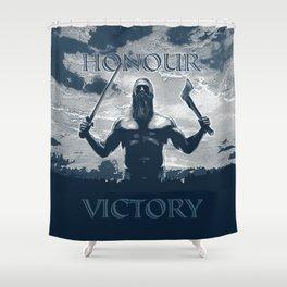 Viking Honour Shower Curtain