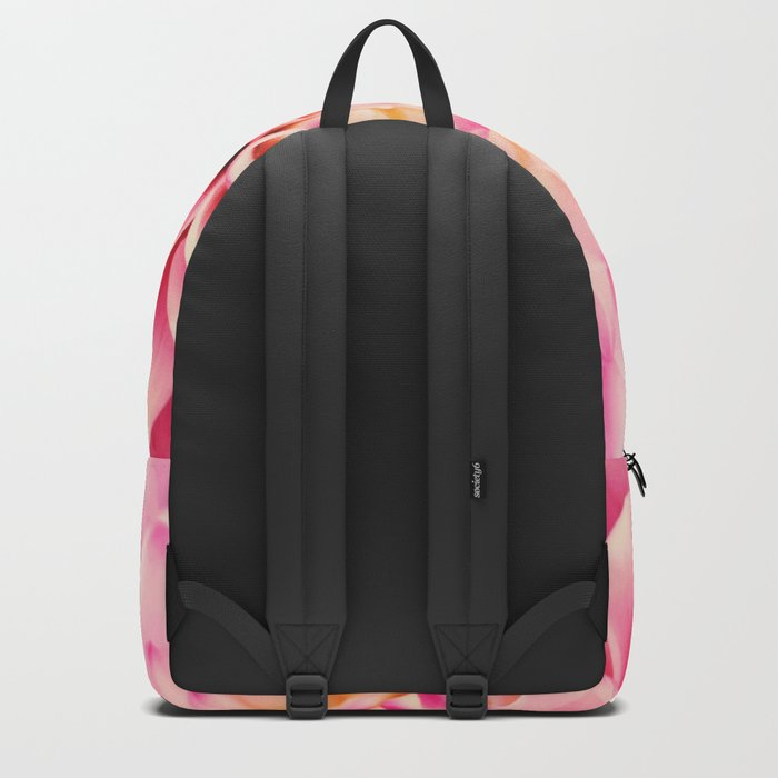 Sweet Pink Dahlia Backpack