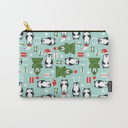 Penguin Party Pattern Carry-All Pouch