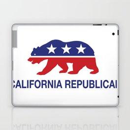 California Political Republican Bear  Laptop & iPad Skin