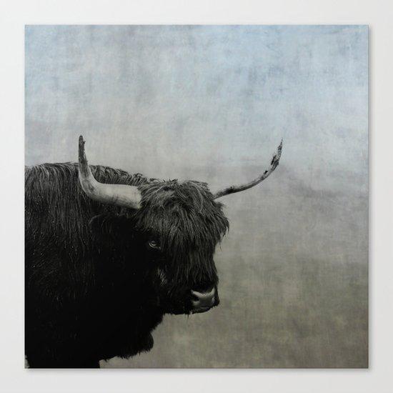 The Lumbering Beast  Canvas Print