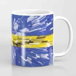 Extruded Flag of Sweden Coffee Mug