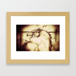 Ancient Dragon Framed Art Print