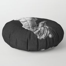 Greek God  Floor Pillow