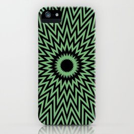 Abstract painting by Leslie harl Ow iPhone Case