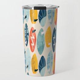 Surfboard white  Travel Mug