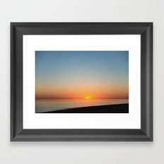 Apart from whether I like it or not, I don't reject thinking about things that aren't logical Framed Art Print