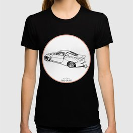 Crazy Car Art 0200 T-shirt