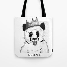 Queen B Tote Bag