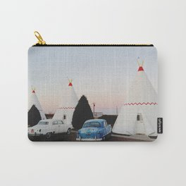 Wigwam Motel Carry-All Pouch