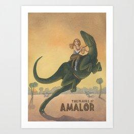 Plains of Amalor Art Print