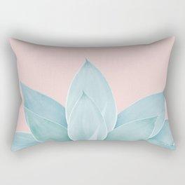 Blush Agave #2 #tropical #decor #art #society6 Rectangular Pillow