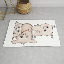 Little pigs Rug