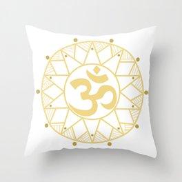 Om Aum Peace Buddhism Faith Peace Gift Throw Pillow