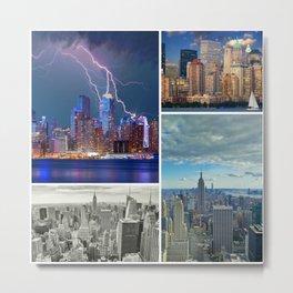 I'll take New York for $2,000, Alex Metal Print