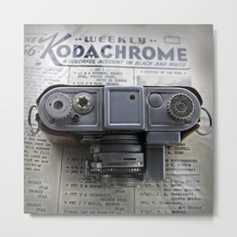 Kodachrome Weekly Metal Print