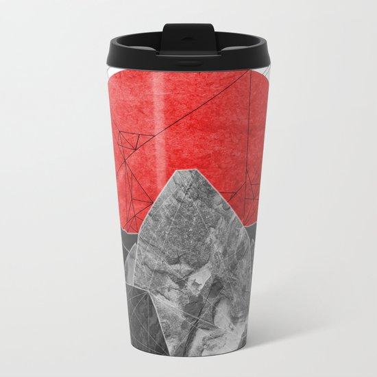 The Rising Sun  Metal Travel Mug