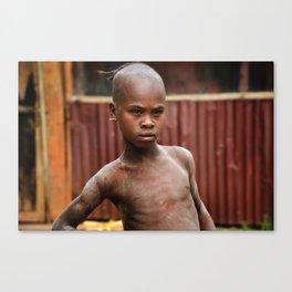 Ethiopian boy Canvas Print
