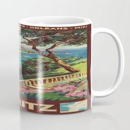 Vintage poster - Biarritz, France Coffee Mug