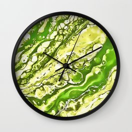 Drowning Here Wall Clock