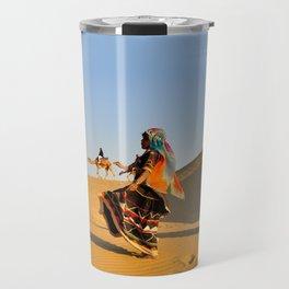 Thar Desert, Rajasthan, India Travel Mug