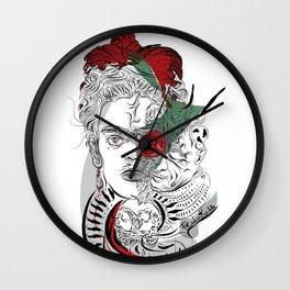 mother frida Wall Clock
