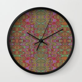 Earth Mod Multi Abstract Wall Clock