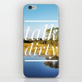 Motus Operandi Collection: Talk dirty iPhone Skin