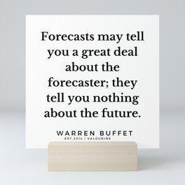 24    Warren Buffett Quotes   190823 Mini Art Print