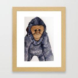 Oooh you cheeky monkey Framed Art Print